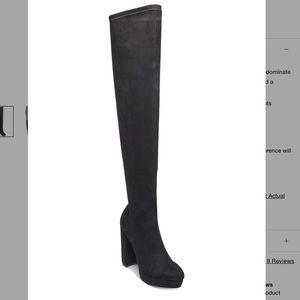 Madden Girl Groupie Over-The-Knee Boots NWB